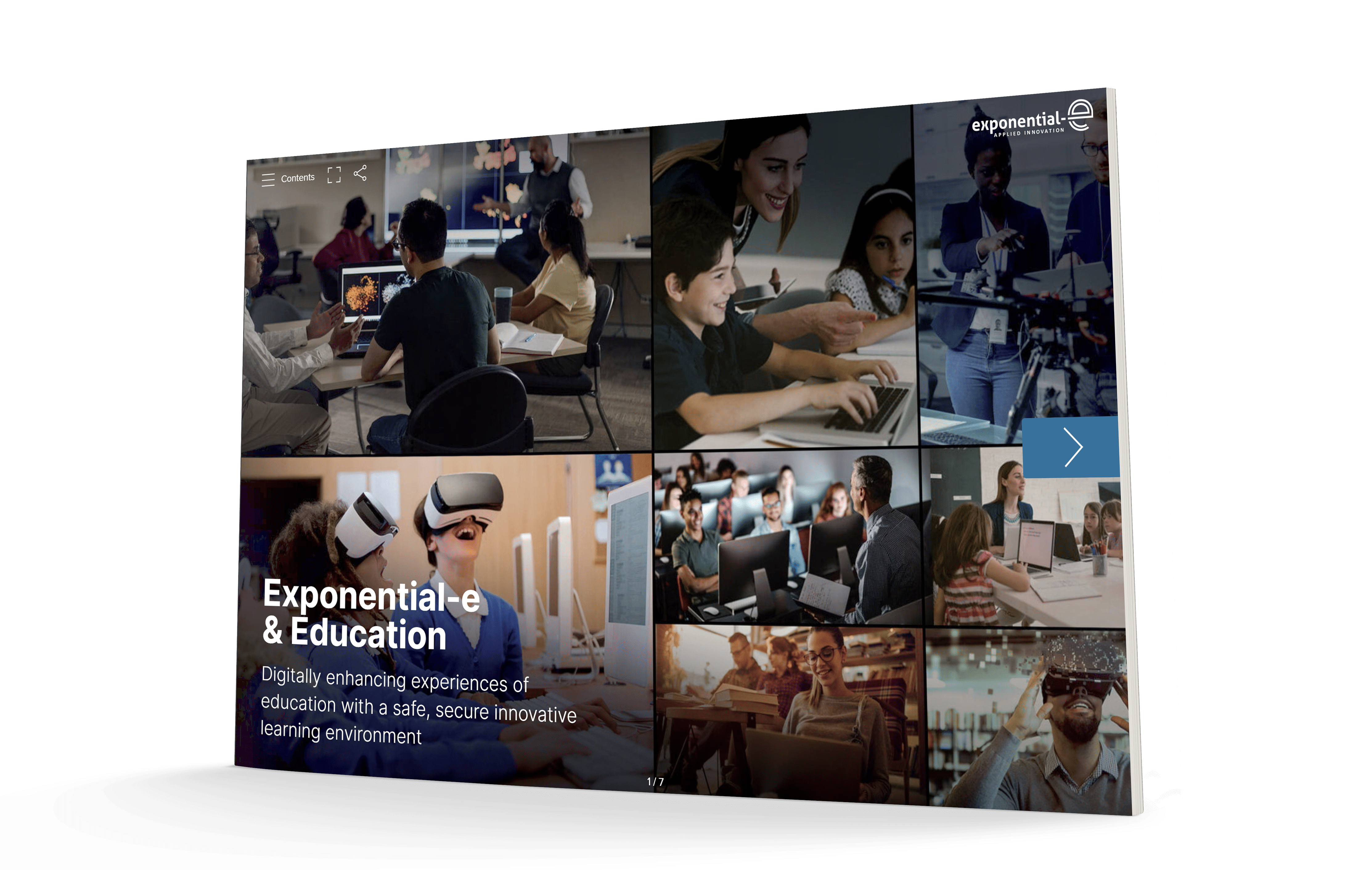 View our brochure: Exponential-e and Education.