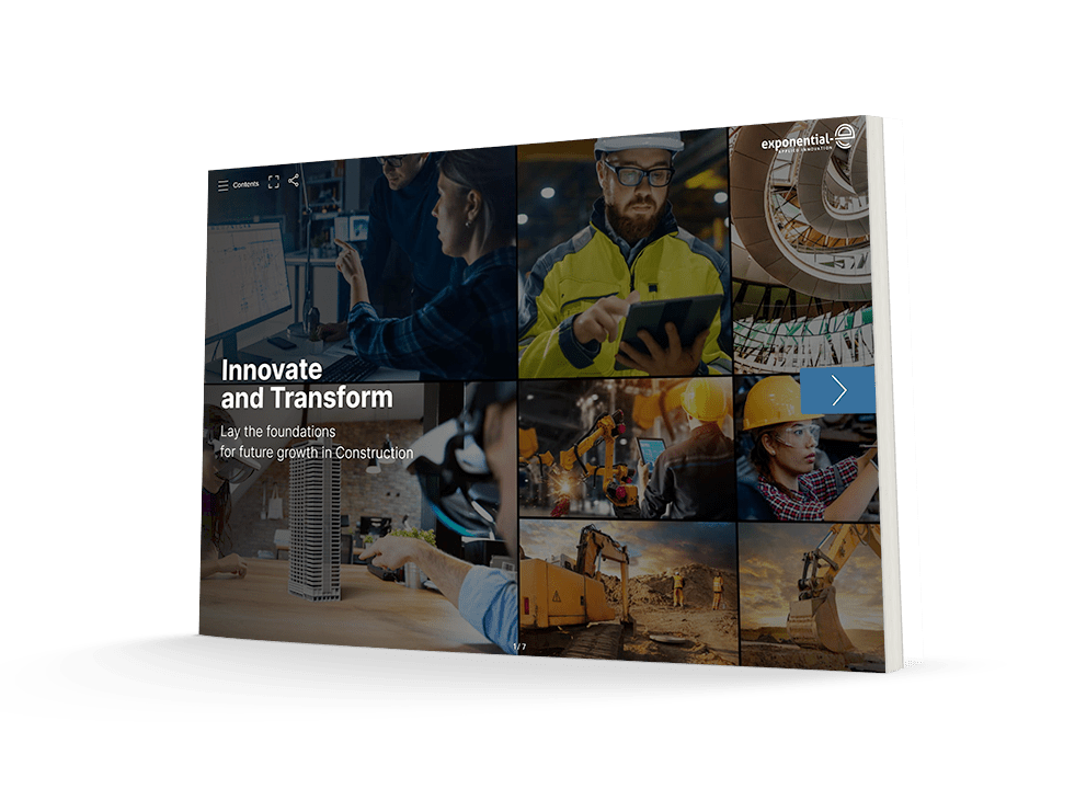 View our brochure: Innovate and Transform - Lay the foundations for future growth in construction.