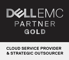 DELL EMC - Gold Partner - Cloud service provider and strategic outsourcer.