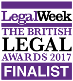 Legal Week - The British Legal Awards Finalist