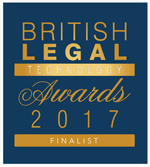 British Legal Technology Awards Finalist